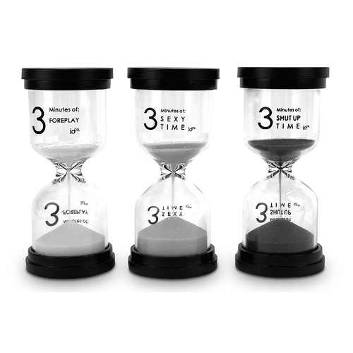 IOco Naughty 3 Minute Timer Set