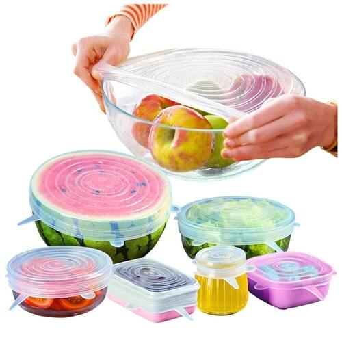 IOco re-use Fresh Food Silicone Covers (6 sizes)