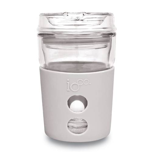 IOco 4oz Piccolo ALL GLASS Coffee Traveller - Warm Latte