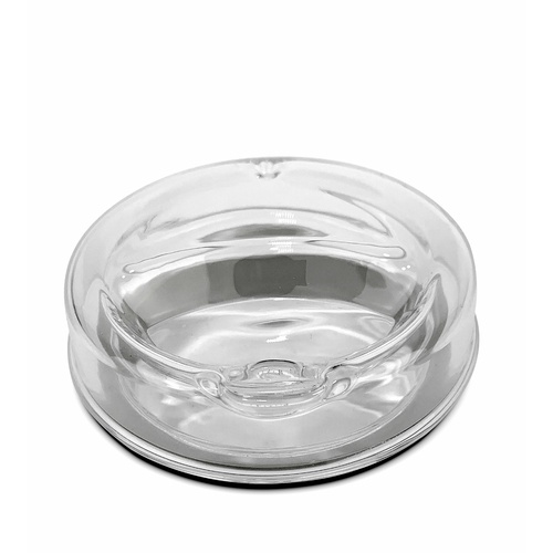 IOco All GLASS Traveller 8oz | 12oz | 16oz Replacement LID - silicone seal sold separately